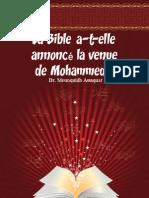 La Bible a-t-elle annoncé la venue de Mohammed ?