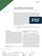 Hypertension artérielle et anesthésie