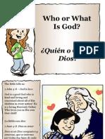 Quién o Qué es Dios - Who or What is God