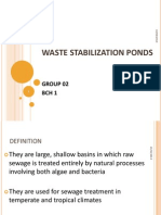 Waste Stabilsation Ponds