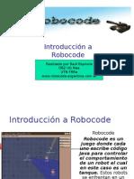 Introducción Robocode