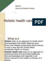 Holistic health care.pptx
