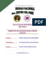 DISEÑO DE UNA CORTADORA DE ALFALFA