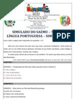 SIMULADO - 5º ANO - LÍNGUA PORTUGUESA - SIMULAÇÃO 6 - GABARITADO