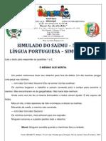 SIMULADO - 5º ANO - LÍNGUA PORTUGUESA - SIMULAÇÃO 8 - GABARITADO