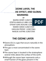 Ozone Layer and Green House Eefect,