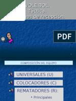 Sistemas de recepción