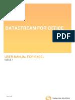 DatastreamforOfficeUserManualforExcelMay2011