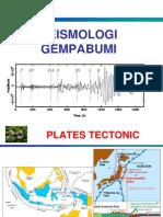 Kuliah Ke-8 Seismologi Gempa