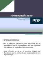 H. nana y H. diminuta