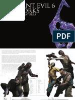 Resident Evil 6 Digital Artbook SPA