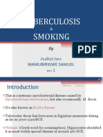 Tuberculosis and Smoking ( Sam