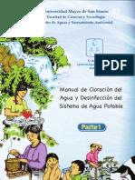 Desinfeccion Del Agua Part I