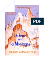Langue Française Lecture Courante CP CE1 Là-Haut sur la Montagne Picard Jughon CE2