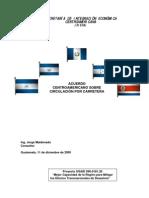 Acuerdo Centroamericano Sobre Circulacion Final