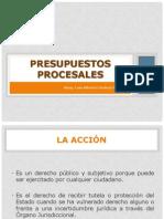 Borrador - Presupuestos procesales