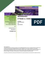 Discount Brokerage Business- US 1999