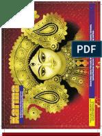 Spiritual Karma Magazine 47. Published by Swamiji Sri Selvam Siddhar-Dr Commander Selvam-Shiva Vishnu Temple