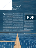 Article on 'Solar Energy