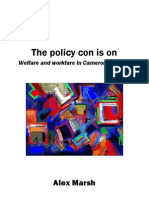 The Policy Con Is On