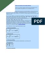 fórmulas de motores de corriente alterna