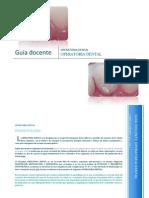 Guía Didáctica Operatoria