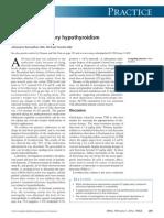 Treatment Refractory Hypothyroidism
