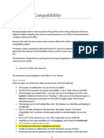 Document Compatibility Check