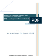 Les caractéristiques d'un dispositif de FOAD