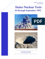 United States Nuclear Tests