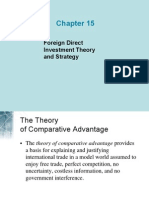 Foreign Direct Investment Theory and Strategy