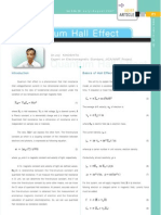 Quantum Hall Effect