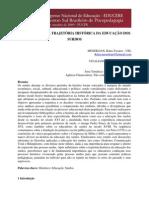 MESERLIAN, Kátia Tavares - Análise sobre a trajetória histórica da educação dos surdos