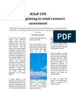 WAsP CFD - A New Beginning in Wind Resource Assessment