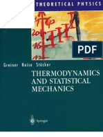 Greiner W. & Neise L. & Stoecker H., Thermodynamics and Statistical Mechanics