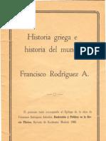 Adrados Historia Griega e Historia Del Mundo