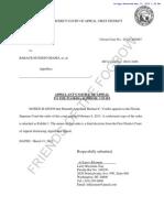 Fl Voeltz III 2013-03-12 Notice of Appeal