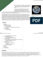 Sustainability - Wikipedia, The Free Encyclopedia