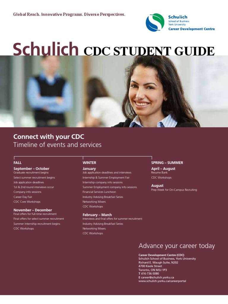 Student Guide | Recruitment | Résumé
