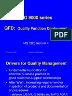 ISO9000 QFD
