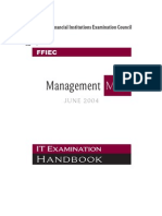 FFIEC ITBooklet Management