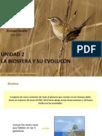 U2. LA BIOSFERA Y SU EVOLUCIÓN Horacio