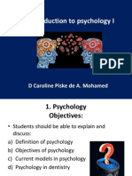 2. an Introduction to Psychology