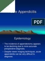 Acute Appendic Its