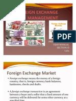 Foreign Exchange Market Presentation