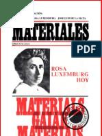 Autores Varios - Notas Sobre Rosa Luxemburg