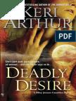 Deadly Desire by Keri Arthur (sneak preview)