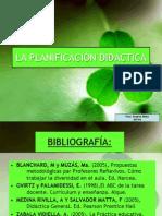 La Planificacion Didactica Prof Bilan