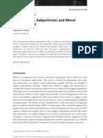 Expressivism, Subjectivism and Moral Disagreement_Sebastian Köhler