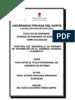 Portada - Auditoría del Desarrollo de Sistemas de Información